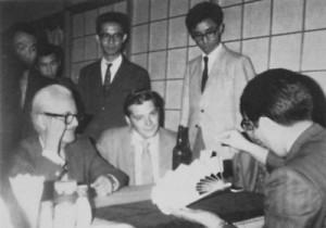 ラリー・ジェニングスとダイ・バーノン1969年の来日
