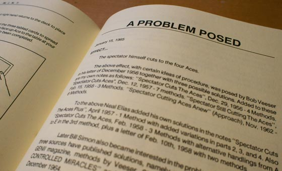 posed problem